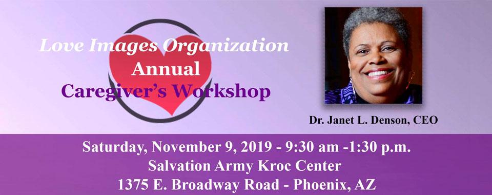 2019 Caregiving Workshop Flyer